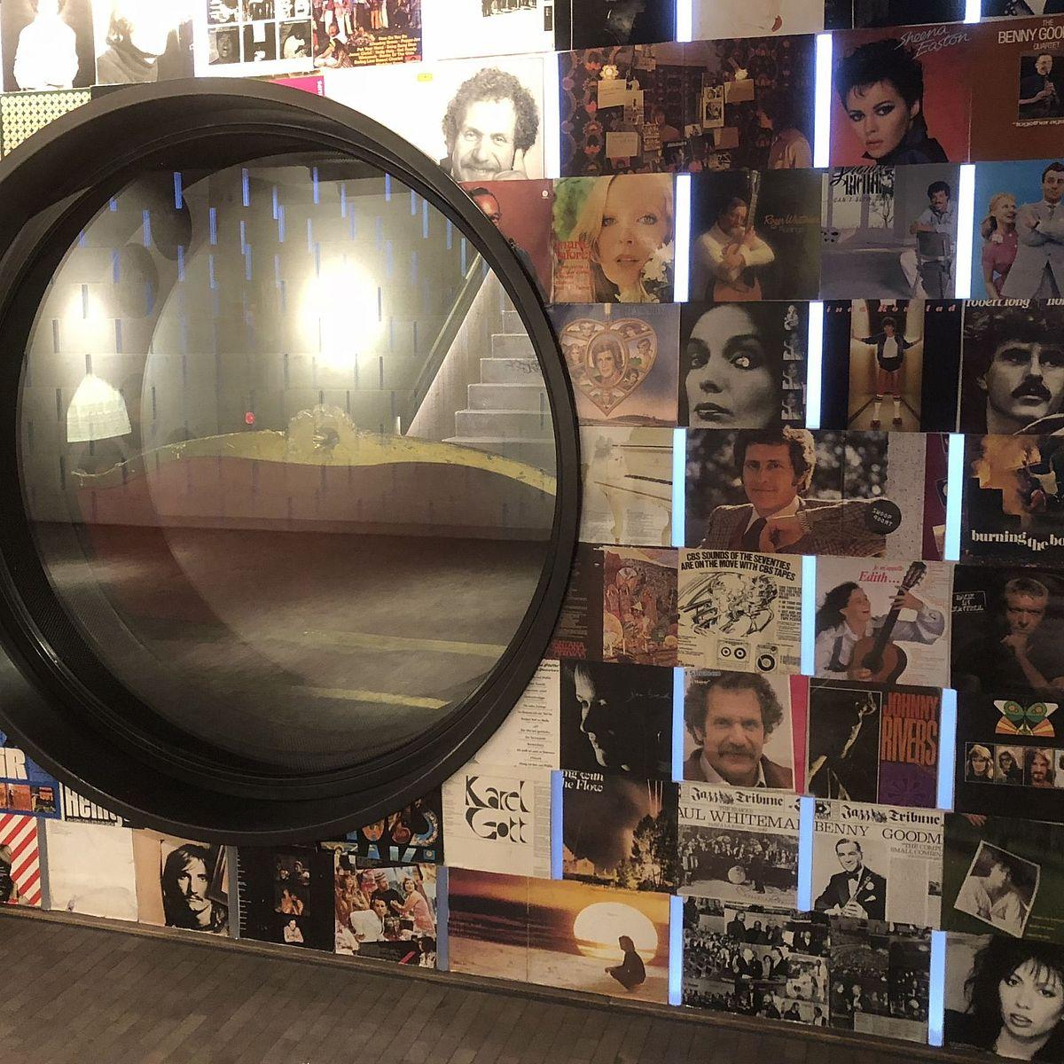 Seitenwand von Hiltl Restaurant